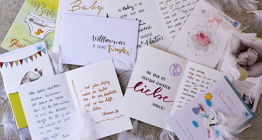 Die Schönsten Sprüche Zur Geburt News Daniel Bürobedarf In Balingen